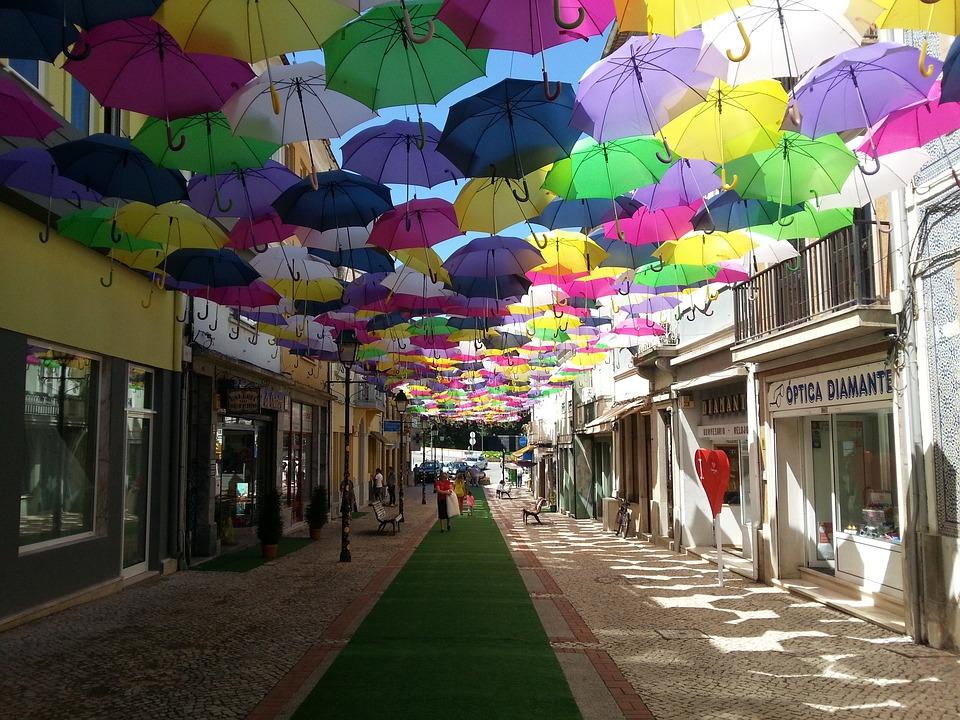 Street, Sol, águeda