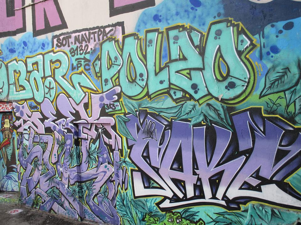 Street-art, Marseille, Graffiti
