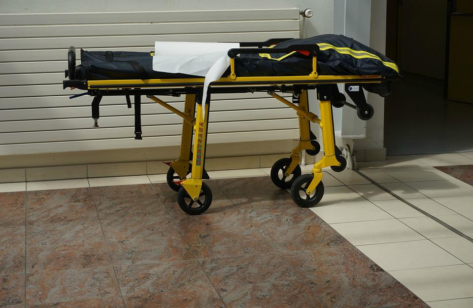 Stretcher, Litter, Emergency, Hospital, Transportation
