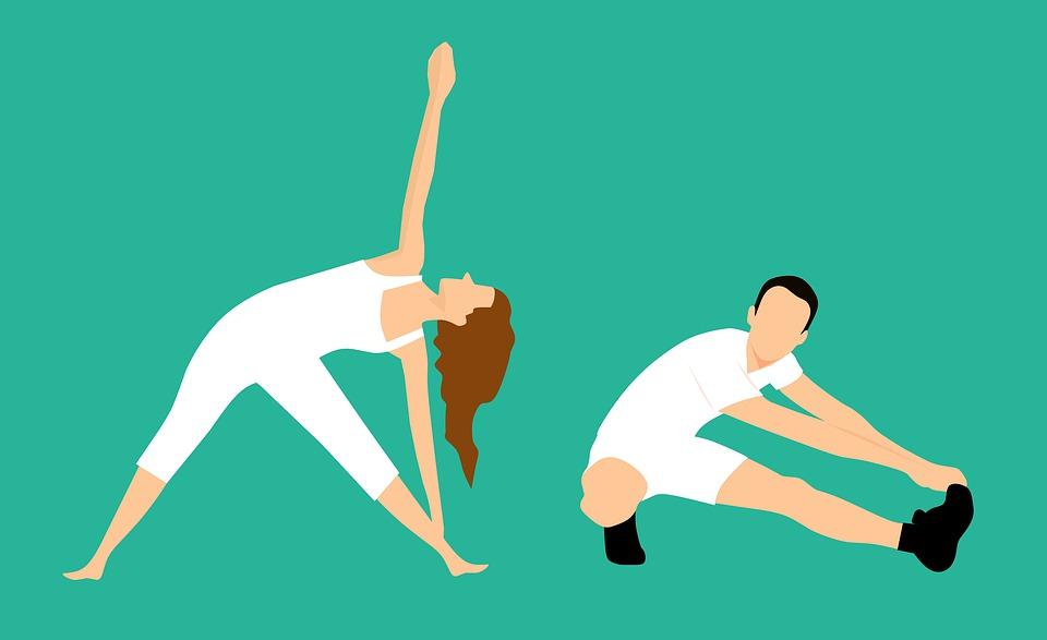 Stretching, Bending, Wife, Flexibility, Women, Activity
