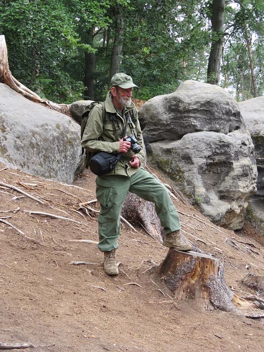Forest Keeper, Strider, Walking, Hiking, Trekking