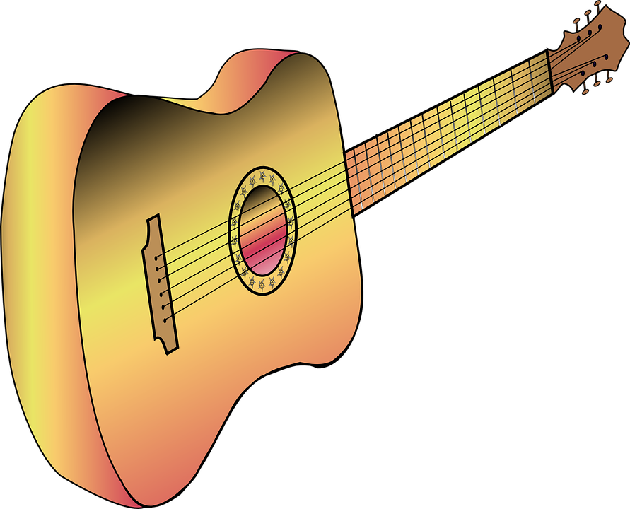 Guitar, Acoustic, Music, String, Instrument, Wooden