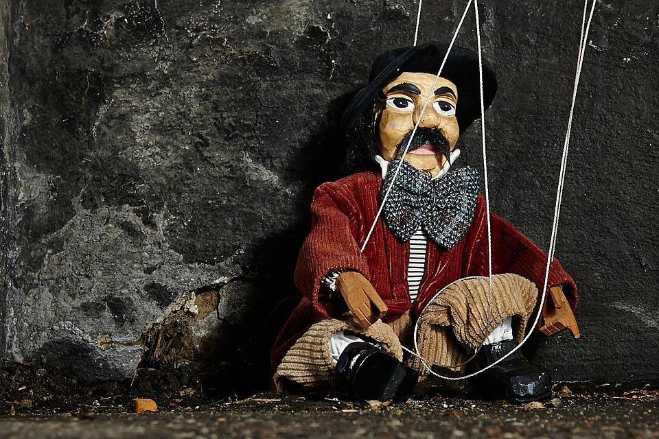 Marionette, Strings, Puppet