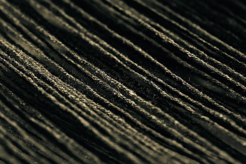 Strings, Pattern, Texture, Design, Black, Decoration