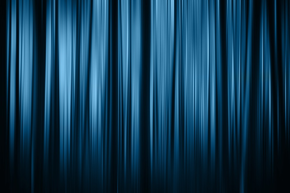 Theater Cinema Curtain Stripes Red Background