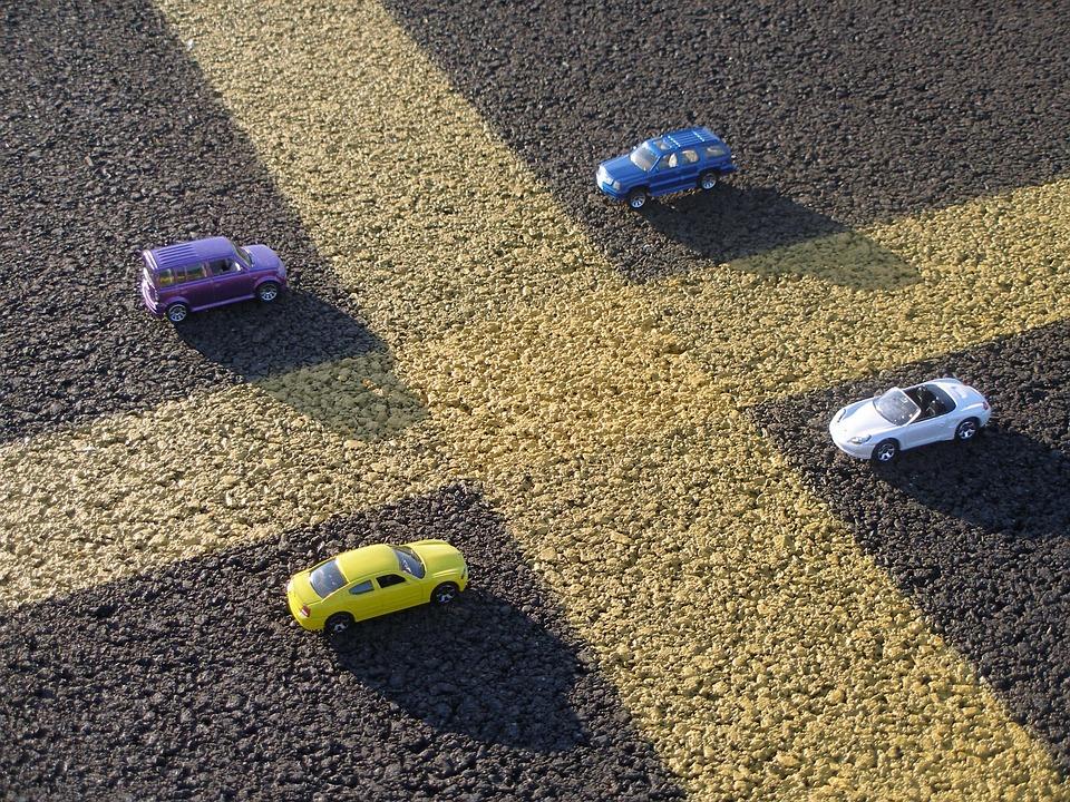 Parking, Asphalt, Parking Lot, Yellow Stripe, Striping