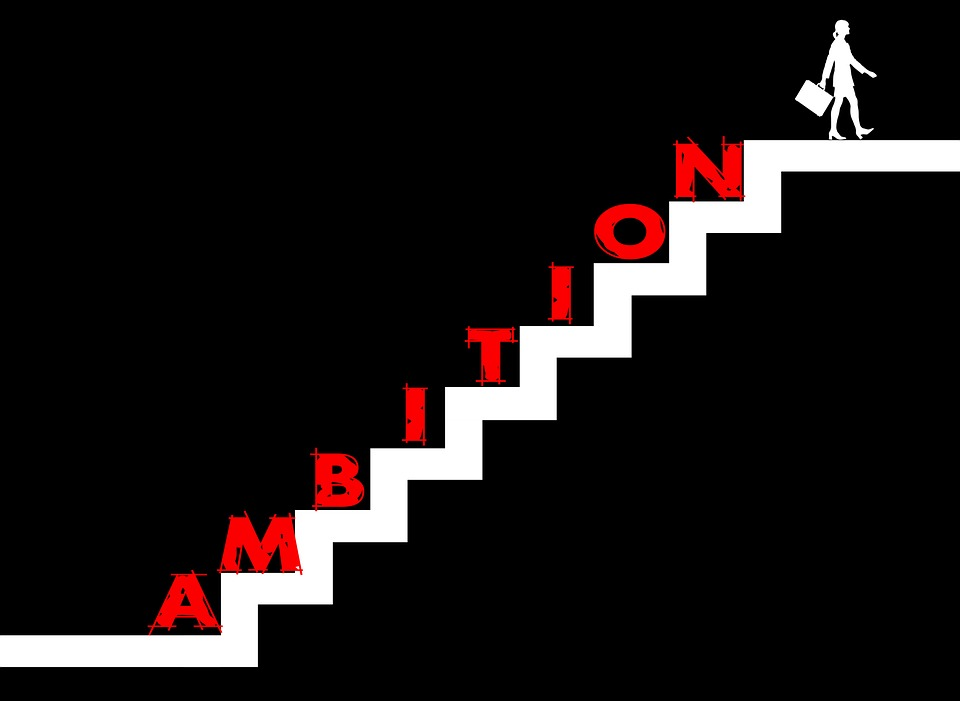 Stairs, Striving For Success, Ambition, Zeal, Natural
