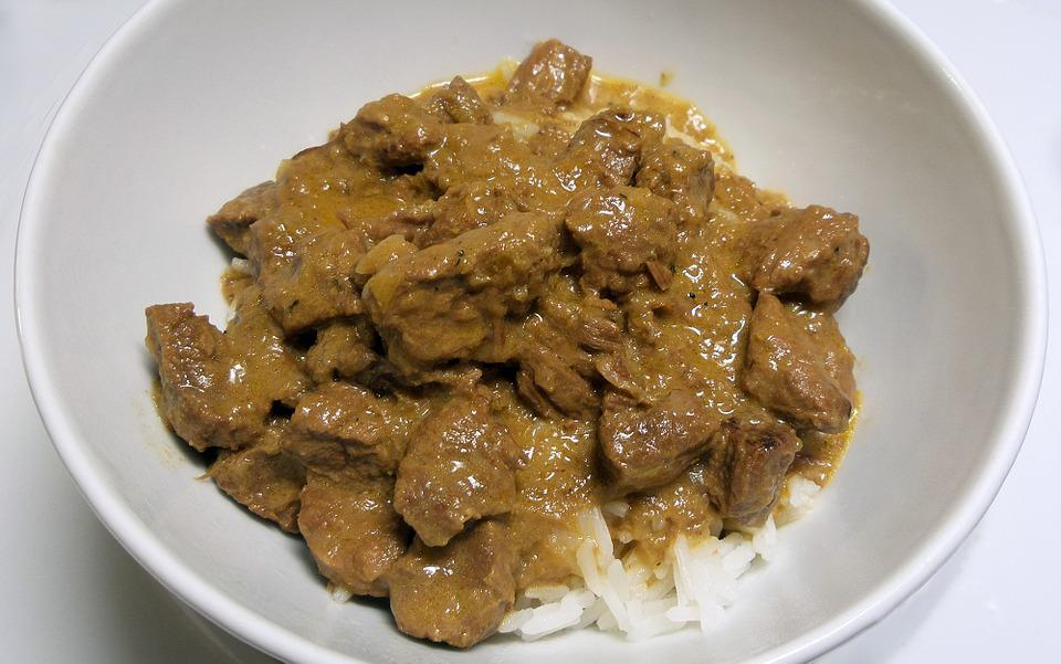 Beef, Stroganoff, Food, Meal, Dinner, Meat, Cuisine