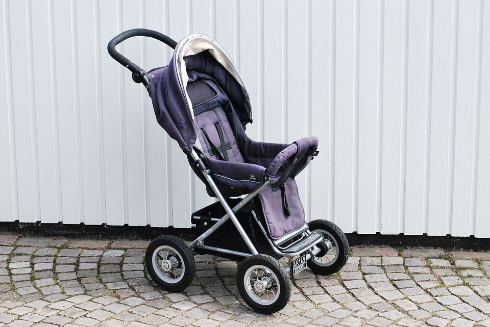 Pram, Stroller, Toddler, Family