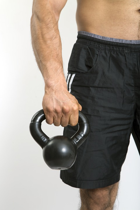 Kettlebell, Arm, Strong Arm, Sport, Body