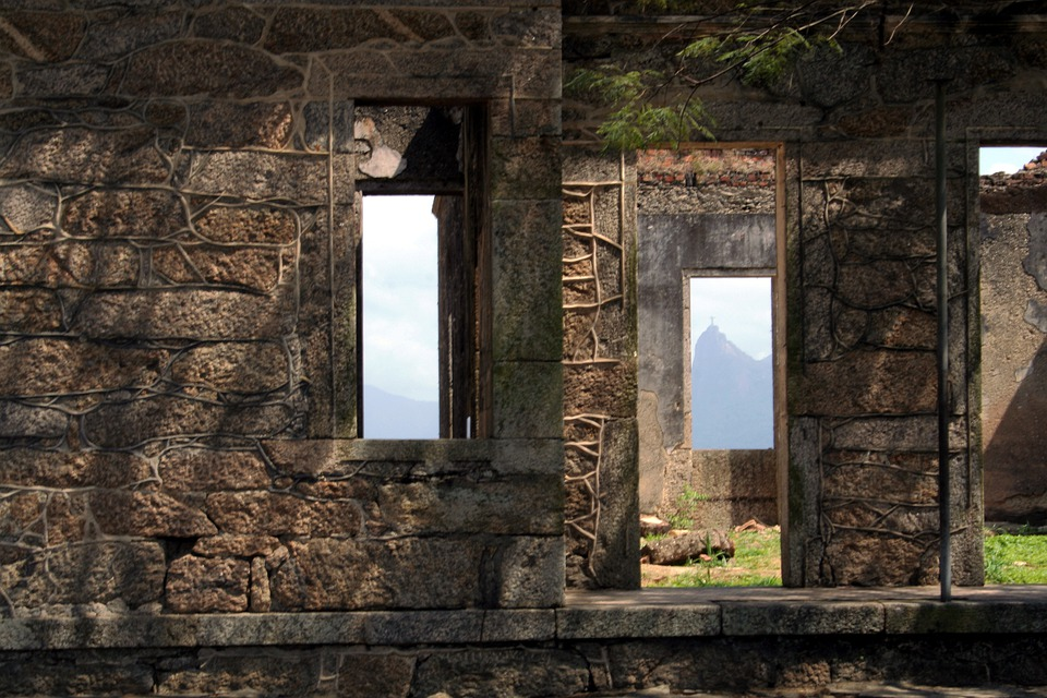 Windows, Strong, Architecture, Construction, Old