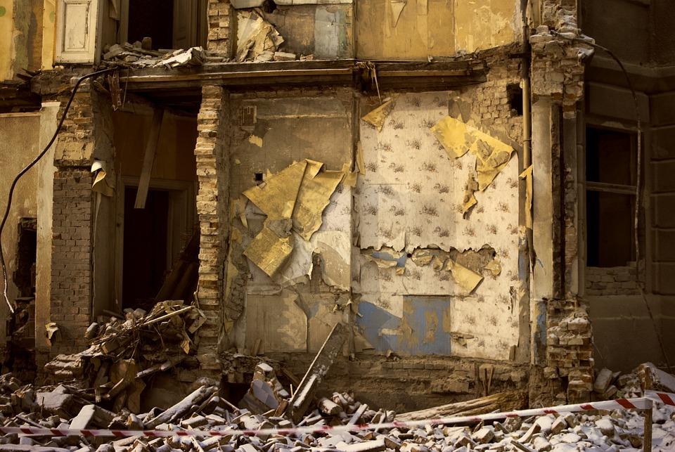 Devastation, Building, Ruin, Architecture, Structure