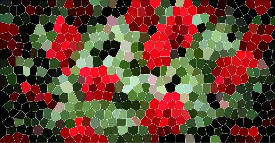 Mosaic, Structure, Pattern, Background, Colorful