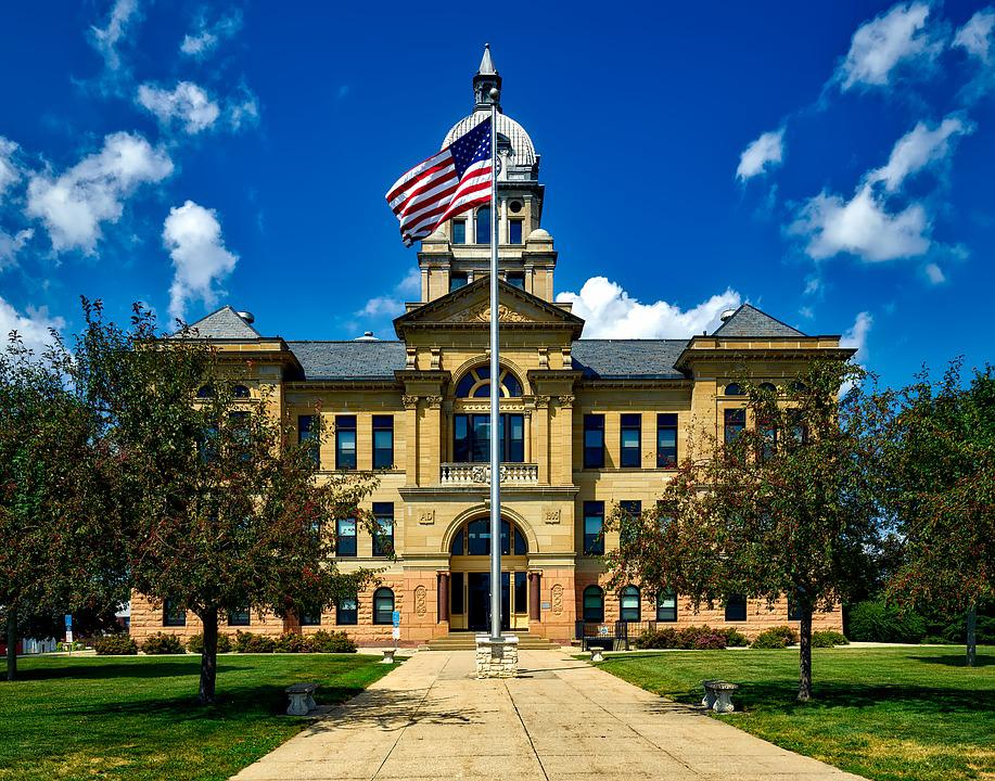 Benton County, Courthouse, Building, Structure