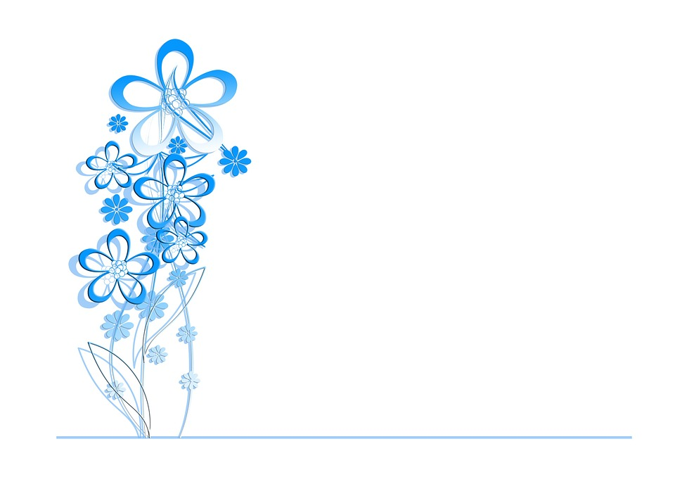 Flowers, Pattern, Background, Greeting Card, Structure