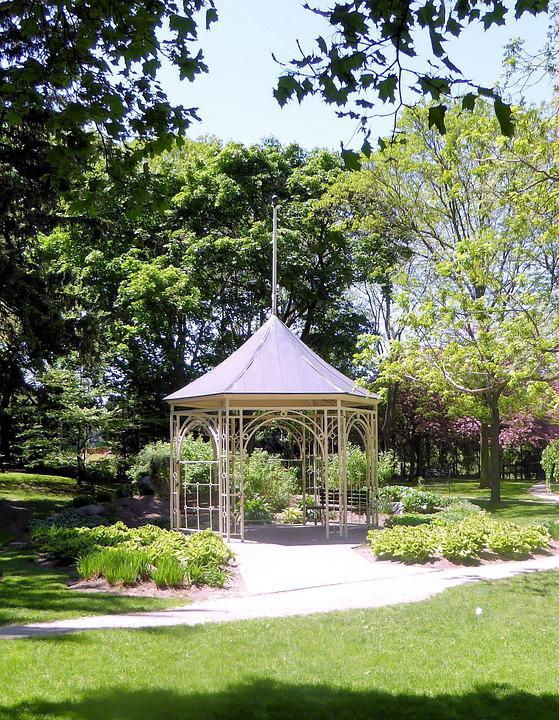 Gazebo, Garden, Nature, Structure, Building, Wood