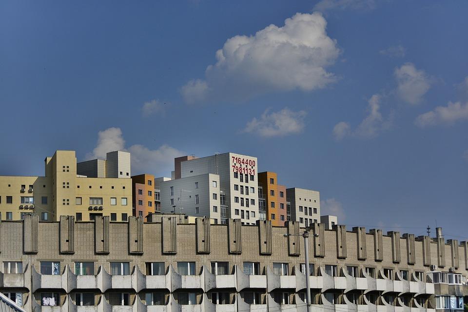 House, Structure, Building Sky, City, Megalopolis
