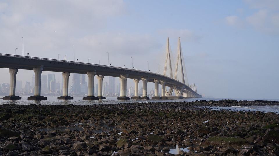 Bandra Fort, Bridge, Cable Bridge, Mumbai, Structure
