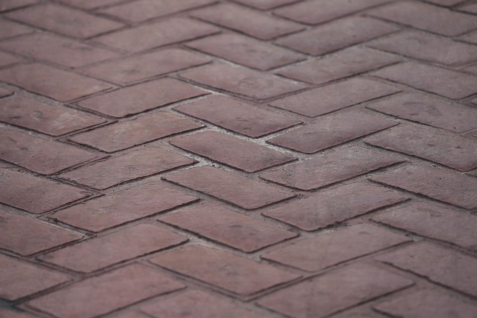 Road, Pattern, Red Bricks, Texture, Structure, Design