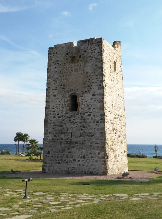 Stone Tower, Castle, Structure, Fortress
