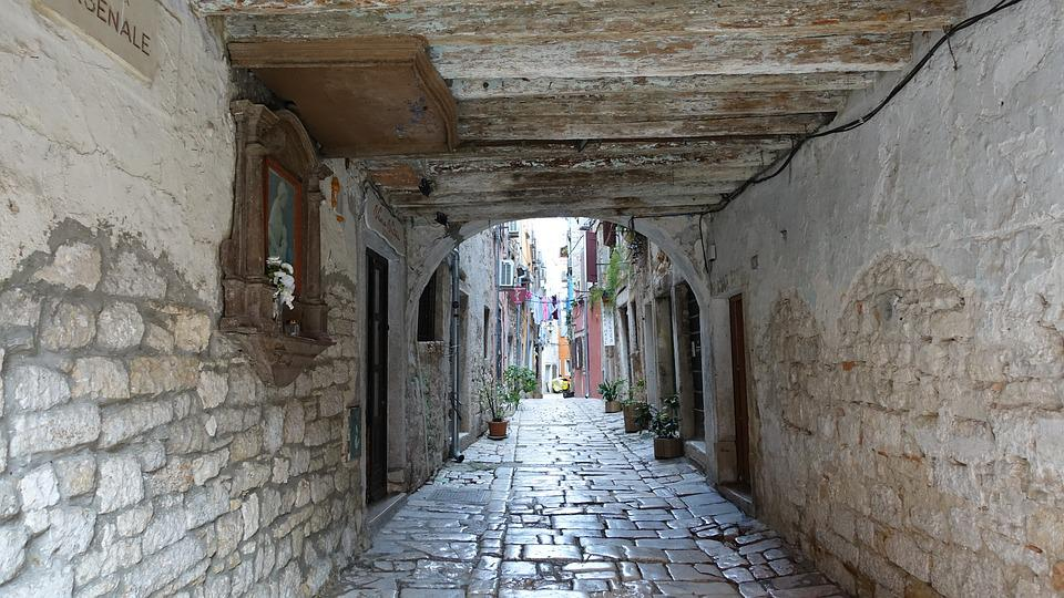 Structure, Old, Wall, Give, Gothic, Croatia