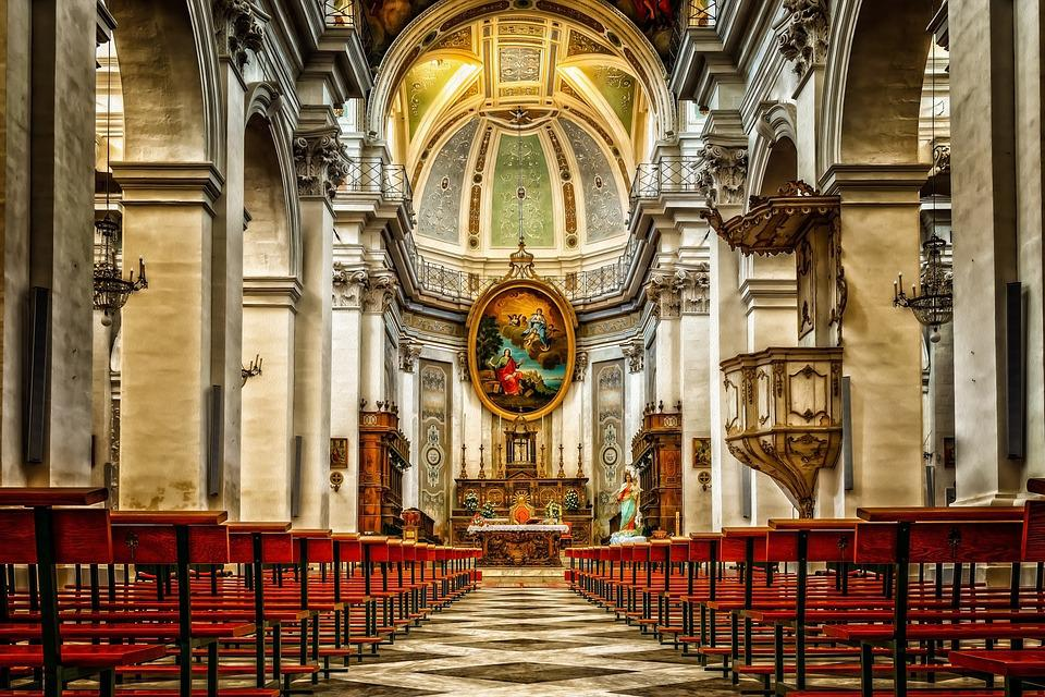 Cathedral, Church, Dom, Religion, Structures, Catholic