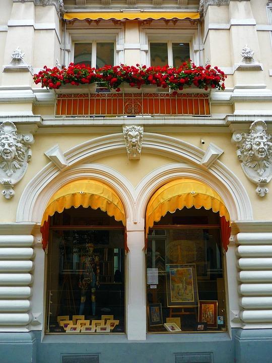 Building, Stucco, Facade, Ornament, Stucco Façade