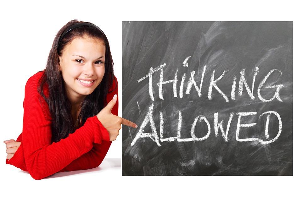Board, School, Teaching, Students, Study, Think