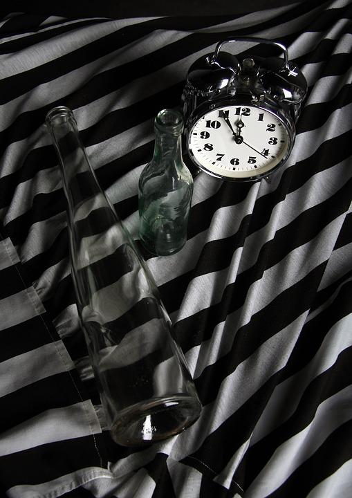 Time, Clock, Alarm Clock, Glass, Studio