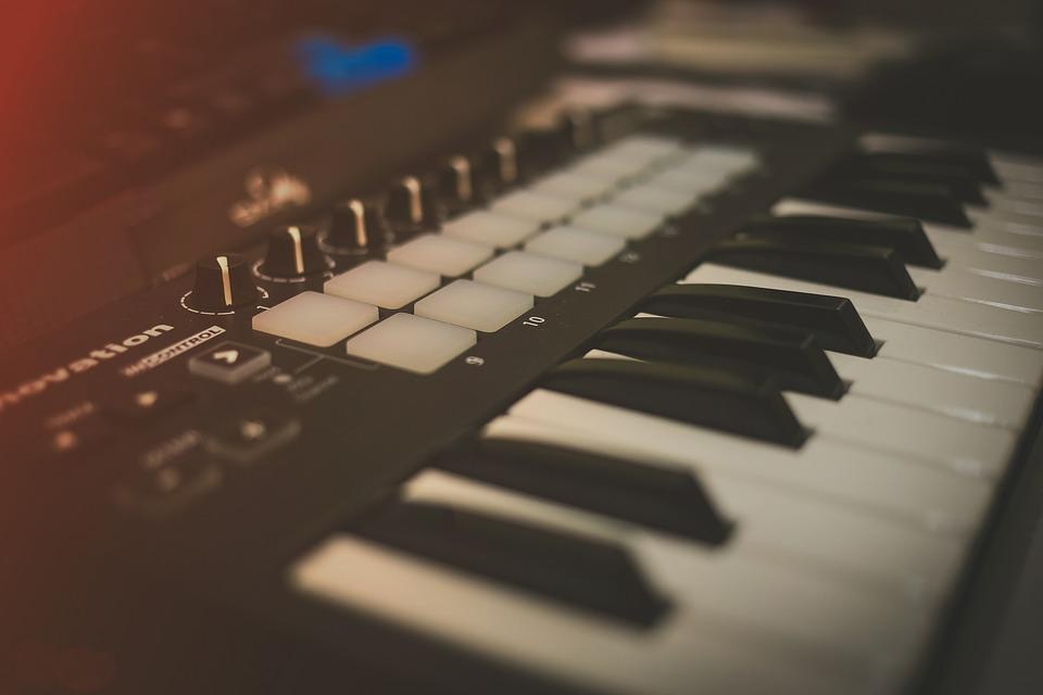 Midi, Music, Keyboard, Studio, Instrument, Digital