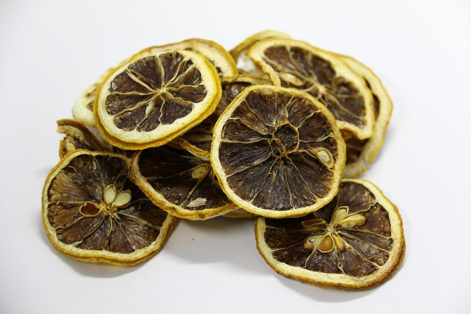 Health, Fruit, Lemon, Dried, Sheet, Acid, Studio