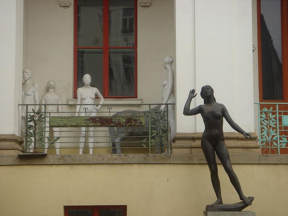Studio, Art, Statue, School
