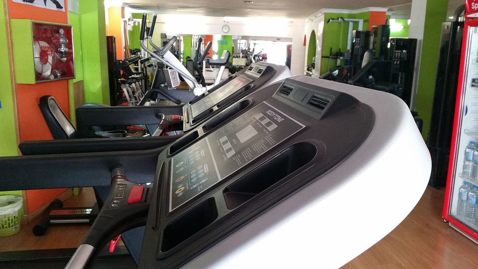 Fitness, Studio, Training, Sport, Treadmill