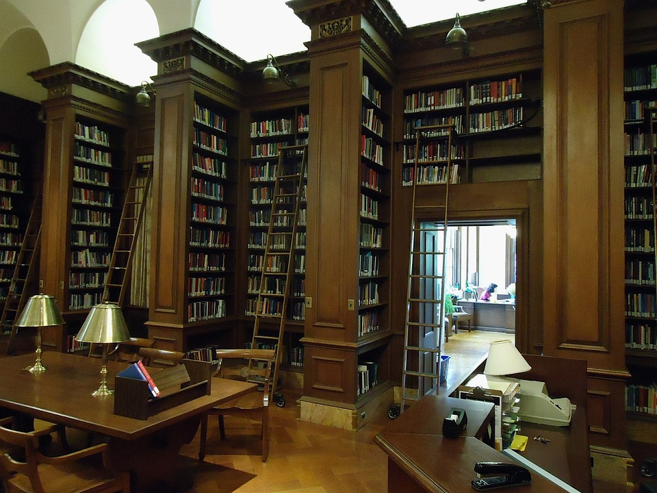 Lafayette College, Easton, Pennsylvania, Study, Library