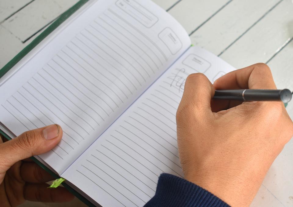 Writing, Book, Business, Education, School, Study