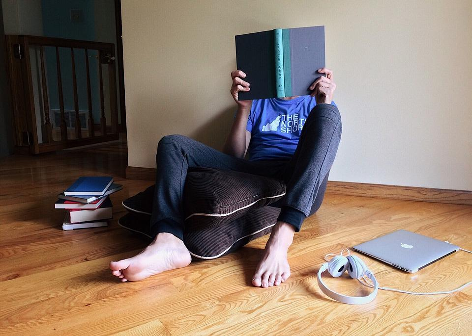 Person, Young, Studying, Reading, Back To School