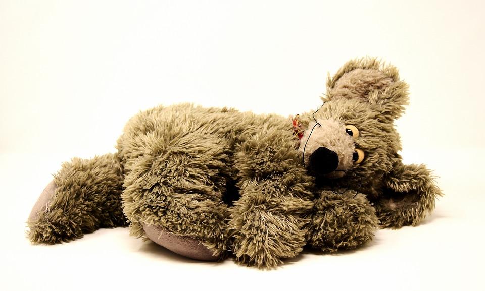 Mouse, Soft Toy, Stuffed Animal, Toys, Teddy Bear