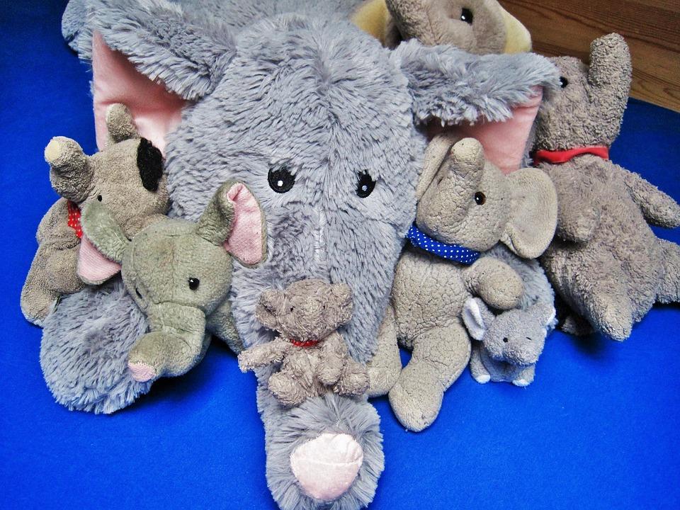 Stuffed Animals, Favorite Animals, Elephant