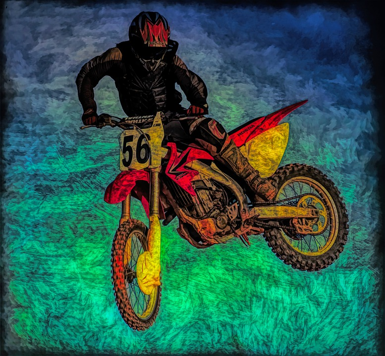 Motorcycle, Stunt, Motocross, Bike, Sport, Ride, Man