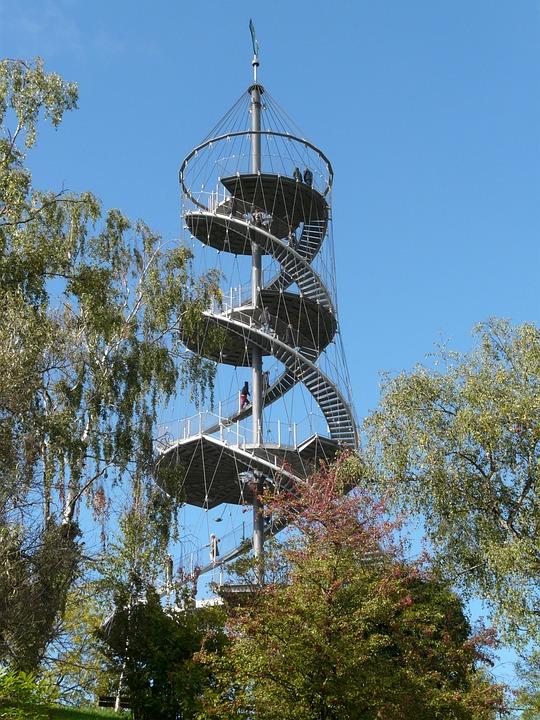 View, Observation Tower, Tower, Stuttgart, Killesberg