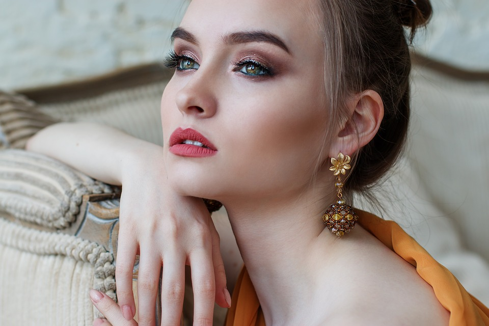 Girl, Makeup, Beautiful, Eyes, Hair, Fashion, Style
