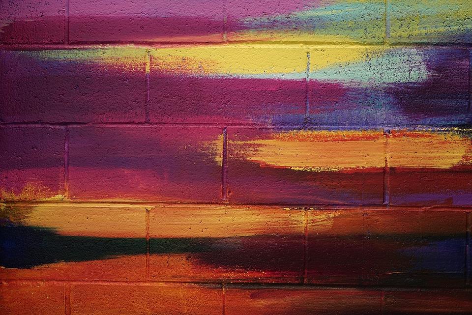 Art, Brick, Color, Modern, Style, Brickwall, Creative