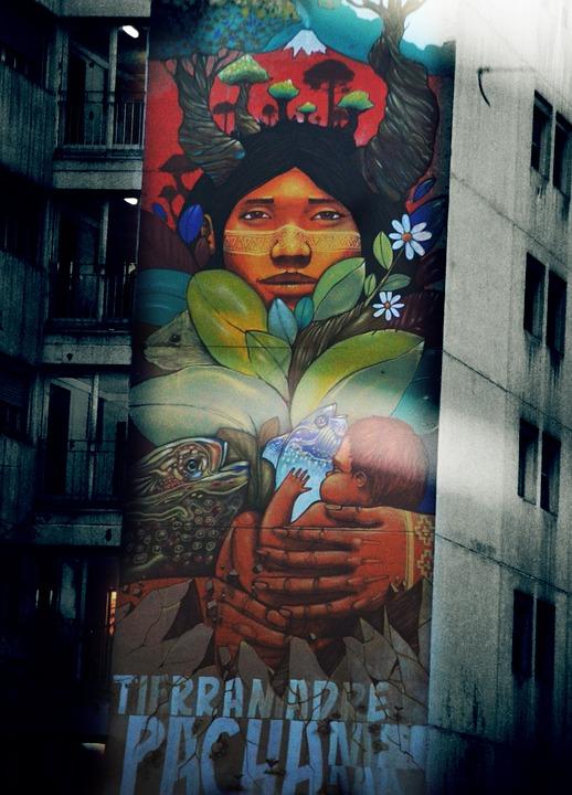 Building, City, Paris, Facade, Style, Graffiti