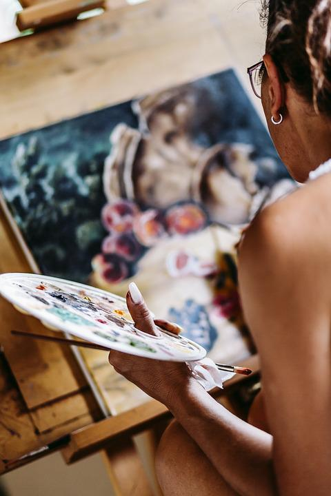 Painting, Still Life, Style, Still, Life, Decoration