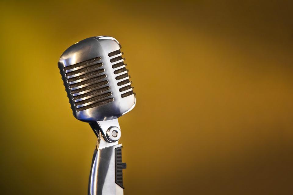 Microphone, Sound, Style, Retro, Nostalgia, Reportage