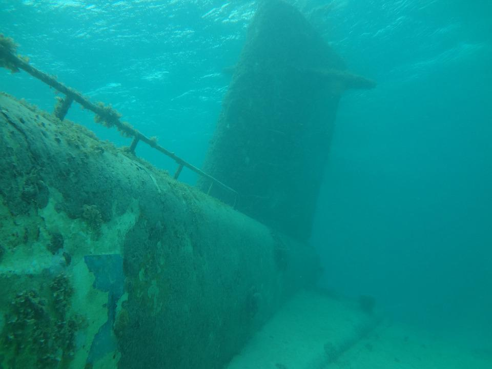 Submarine, Ocean, Sunken, Nautical, Scuba, Wreck