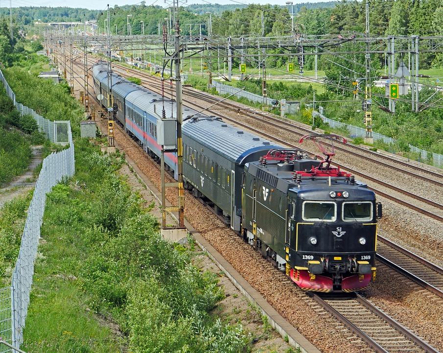 Sweden, Suburban Train, Stockholm, Regional Traffic