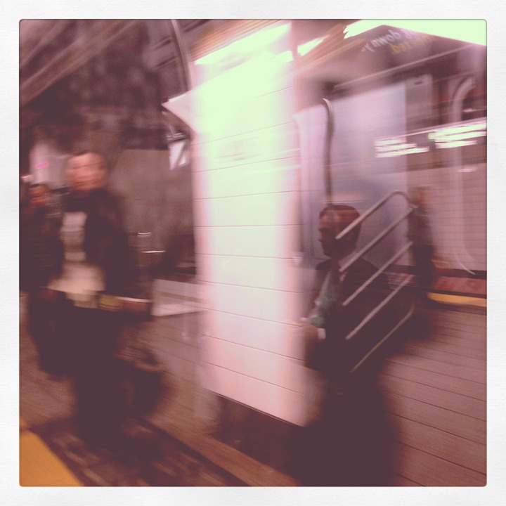 Subway, New York, Upper East Side, City, Metro