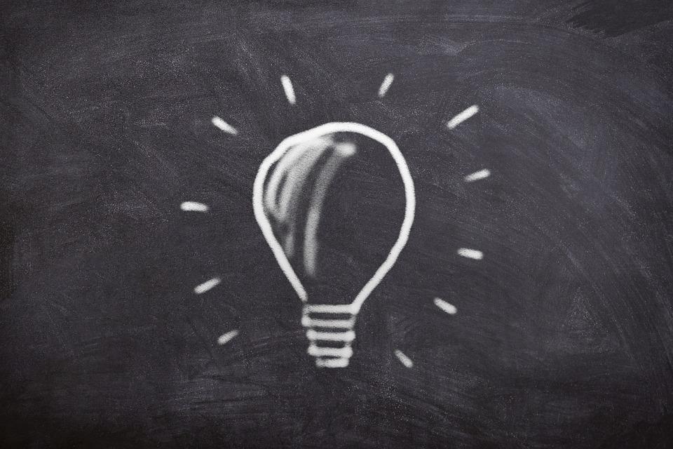 Board, Light Bulb, Chalk, Success, Knowledge