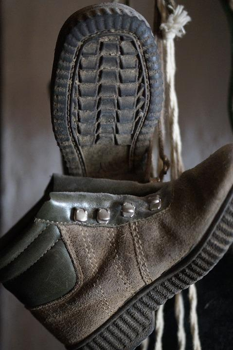 Hiking Shoes, Leather Shoes, Suede Leather, Hiking